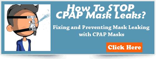 CPAP mask leaks