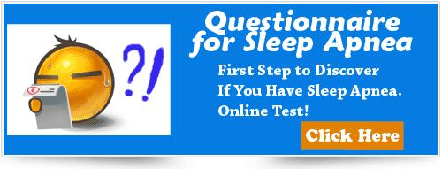 Sleep Apnea Questionnaire