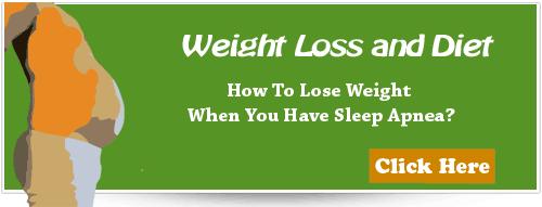 sleep apnea and weight loss