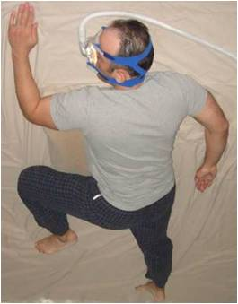 sleep position with cpap