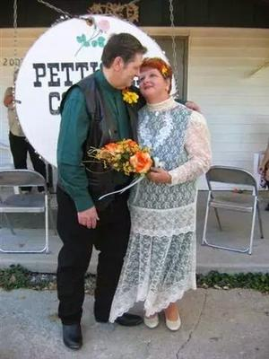 Our wedding day, October 15, 2005