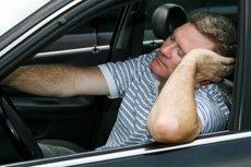 falling asleep at the wheel